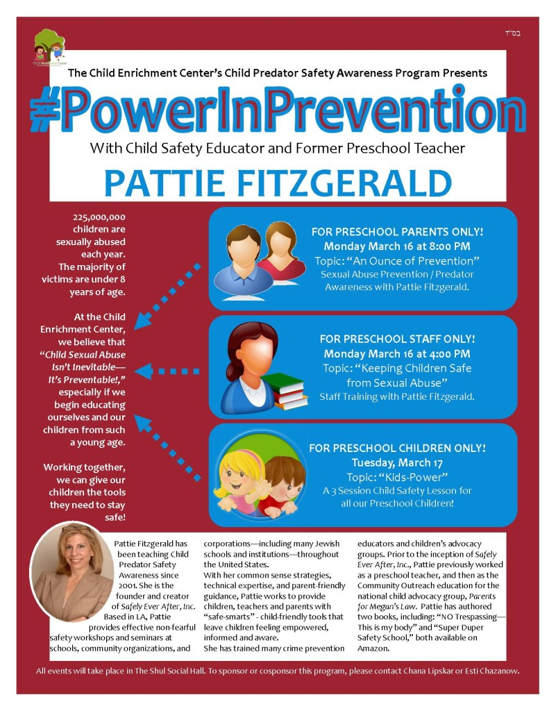#PowerInPrevention Flyer